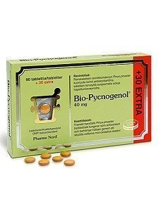 Bio-Pycnogenol 40 mg 90 tabletti