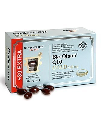 Bio-Qinon Q10 Gold 100mg 150 + 30 tabl.