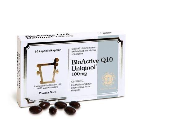 BioActive Q10 Uniqinol 100 mg 60 kaps