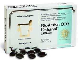 BioActive Q10 Uniqinol 100 mg 60 kaps.
