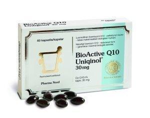 BioActive Q10 Uniqinol 30 mg 60 kaps.