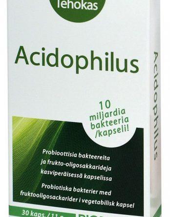 Biomedin Acidophilus 30 kapselia