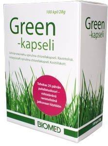 Biomedin Green kapselit 100 kaps.