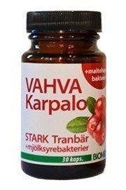 Biomedin vahva karpalo + maitohappobakteerit 30 kpl