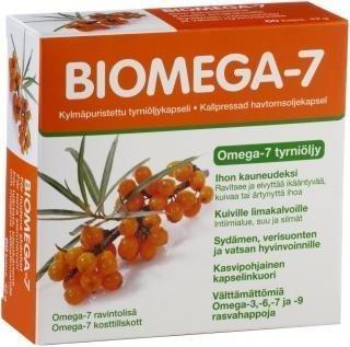 Biomega-7 tyrniöljy 60 kaps.