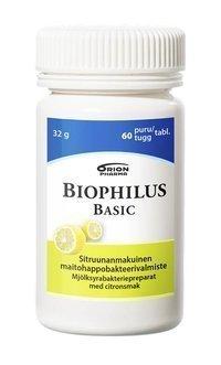 Biophilus Basic sitruuna 60 purutablettia *