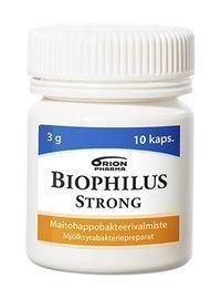 Biophilus Strong 10 kapselia *