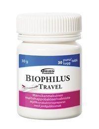 Biophilus Travel 30 purutablettia * - KAMPANJATUOTE