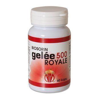 Biosorin Gelee Royale 500 60 kapselia