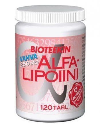 Bioteekin AlfaLipoiini Vahva
