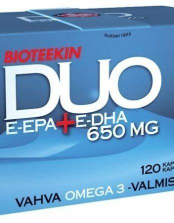 Bioteekin DUO E-EPA+E-DHA 120 kaps