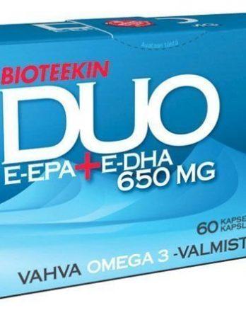 Bioteekin DUO E-EPA+E-DHA 60 kaps