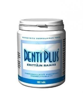 Bioteekin Dentiplus Original Lakritsi
