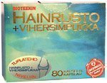 Bioteekin Hainrusto + vihersimpukka 80 kaps.