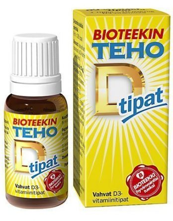 Bioteekin Super D-Tippa 8 ml