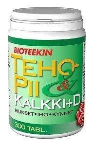 Bioteekin TehoPii & Kalkki + D 300 purutabl.