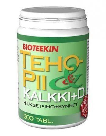 Bioteekin TehoPii & Kalkki+D