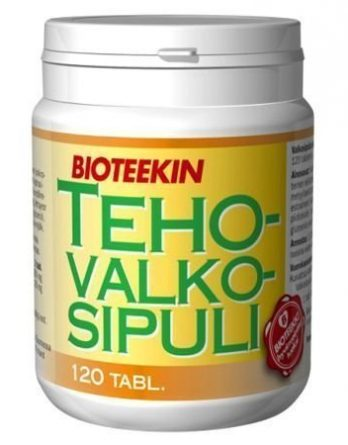 Bioteekin TehoValkosipuli