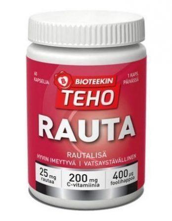 Bioteekin Tehorauta 60 kaps.