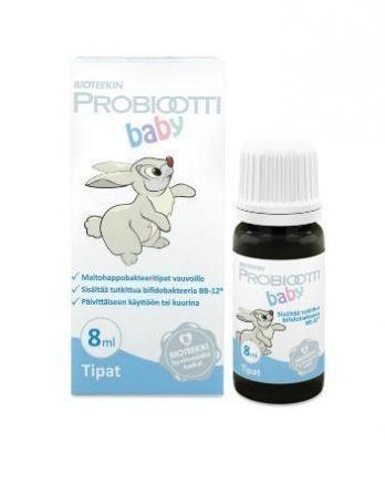 Bioteekin probioottiplus baby tippa