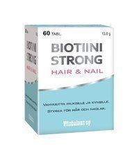 Biotiini Strong Hair & Nail 60 tablettia