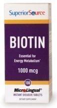 Biotin 1000 mcg 100 tablettia