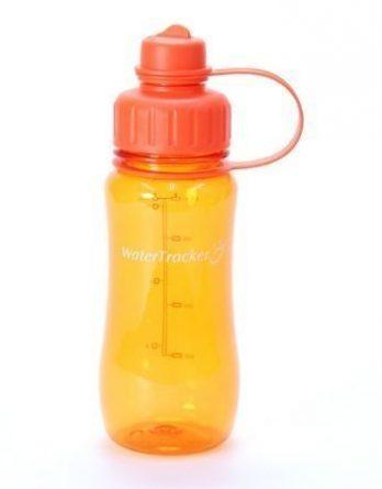 Brix WaterTracker juomapullo oranssi 0