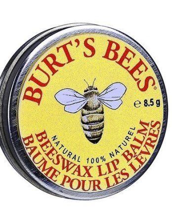 Burt's Bees Beeswax Lip Balm Tin 8