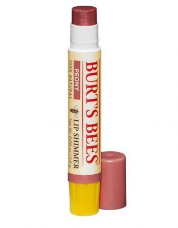 Burt's Bees Lip Shimmer Peony