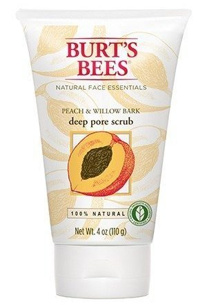 Burt's Bees Peach & Willow Bark Deep Pore Scrub 110 g