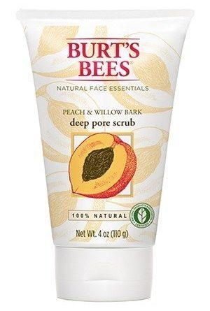 Burt's Bees Peach & Willow Bark Deep Pore Scrub 110 g