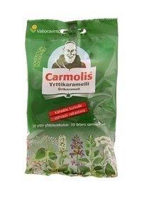 Carmolis sokeriton yrttikaramelli 75 g