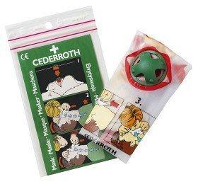 Cederroth Hengityssuojain Sulkuventtiilillä 1 kpl