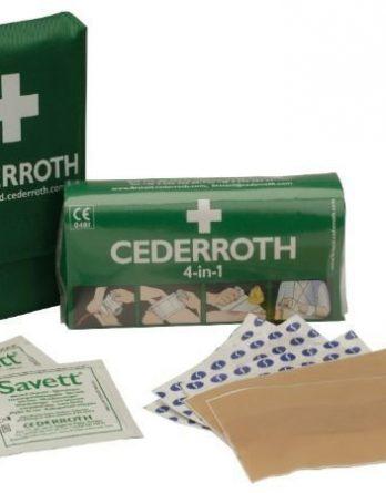 Cederroth taskupakkaus vihreä