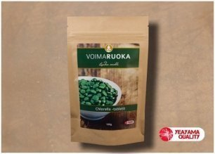 Chlorella Tabletit 100 g Voimaruoka