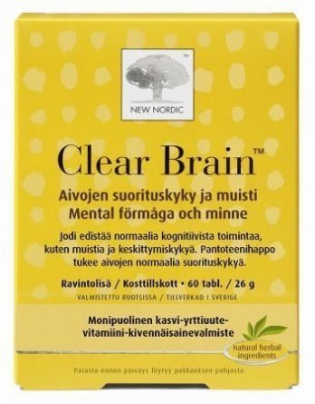 Clear Brain 60 tabl.