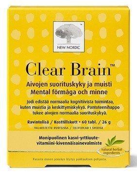 Clear Brain 60 tablettia
