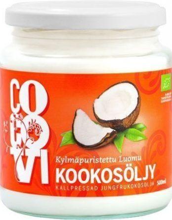 CocoVi Kylmäpuristettu Kookosöljy 500 ml