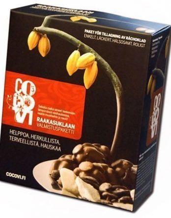 CocoVi Raakasuklaan valmistuspaketti