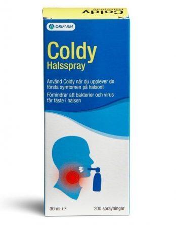 Coldy Kurkkuspray 30 ml