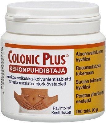 Colonic Plus kehonpuhdistaja 180 tabl.