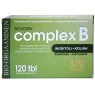 Complex B B-vitamiinipitoinen vehnänorasvalmiste 120 tabl.