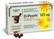 D-Pearls 125µg 40 kaps.