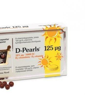 D-Pearls 125 µg 120 kaps