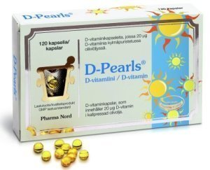D-Pearls 20μg 120 kaps.