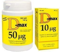 D-max 20 µg 90 purutabl.