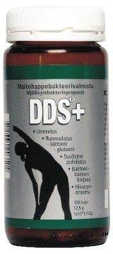 DDS+ maitohappo- bakteerivalmiste 100 kaps.