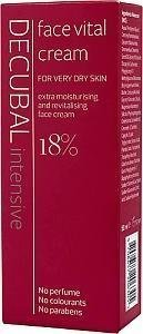 Decubal Face Vital Cream 50 ml Hajusteeton