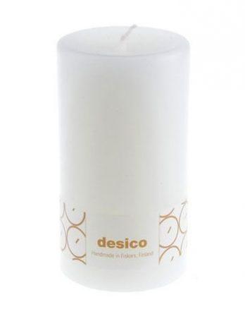 Desico Pöytäkynttilä 14 cm valkoinen 3 kpl