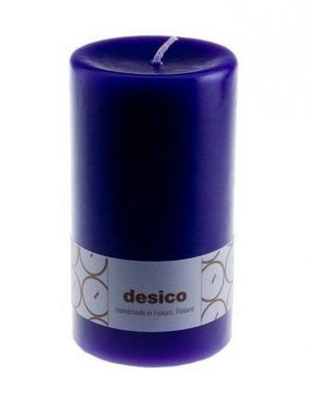 Desico Pöytäkynttilä 14 cm violetti 3 kpl